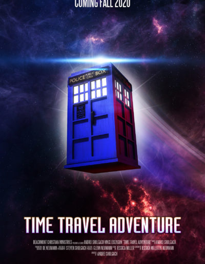 Time Travel Adventure Poster SMALL